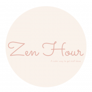 The Zen Hour. A calm way to get stuff done