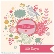TIPS for your 100 day goal and FREE stuff for your 100 day journal