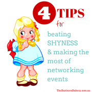 Four tips for beating shyness and making the most of networking events