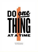 do_one_thing_at_time_New