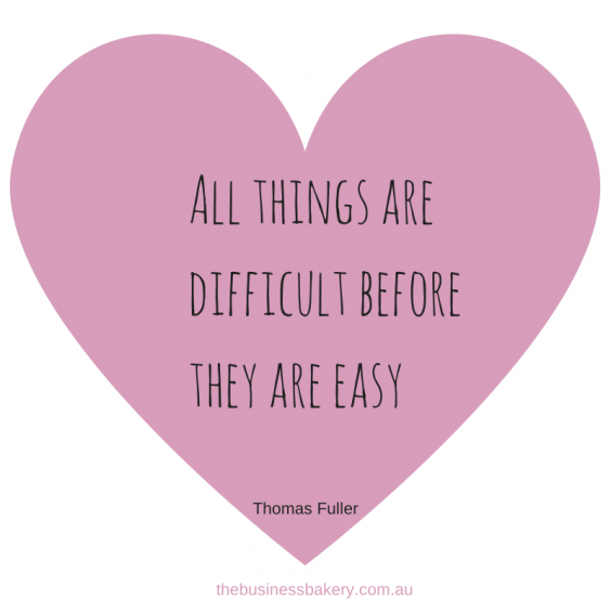 All things are difficult before they are