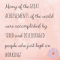 Many of the great achievements of the (2)