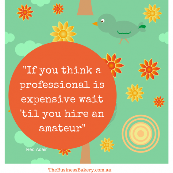 If you think a professional is expensive