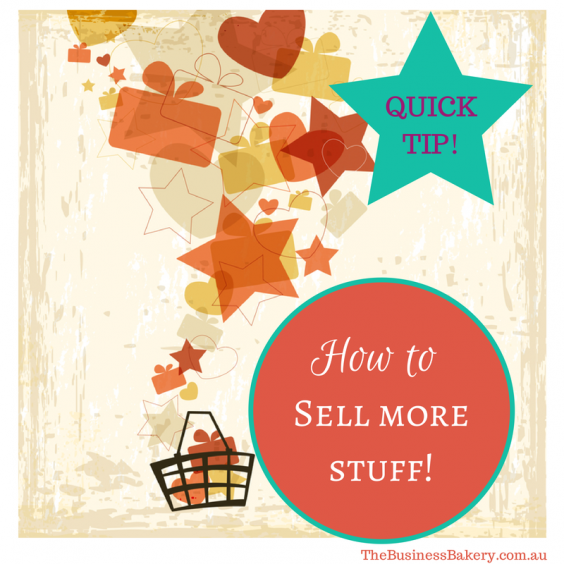 Sell more stuff!