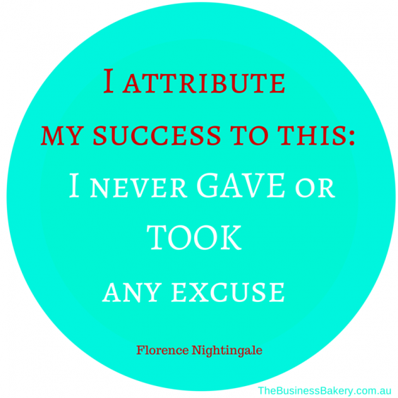 I attribute my success to this- I never