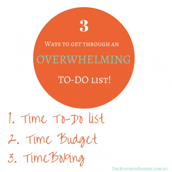 3 ways to manage an overwhelming todo list