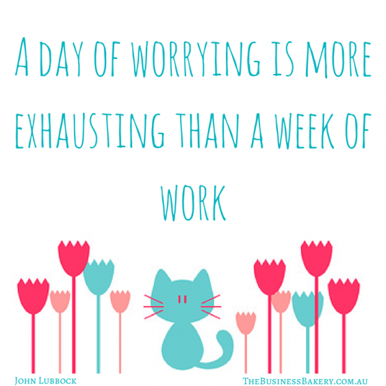 A day of worrying is more exhausting
