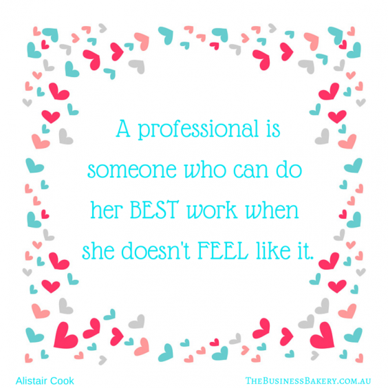 -A professional is someone who can do