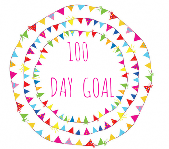 100 day goal 2015