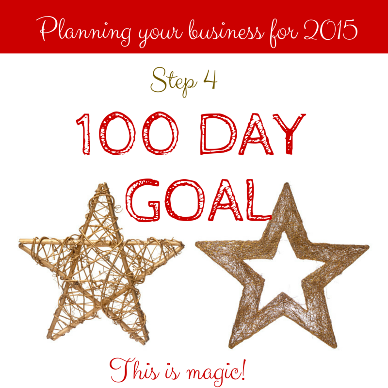 Your 100 Day Goal! Step FOUR of the easy and BEST way to