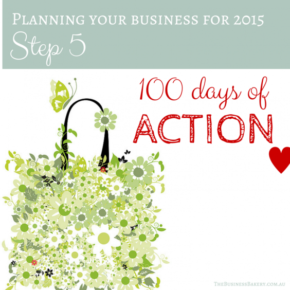 Planning for 2015 100 day goal