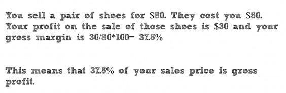 sell a pair of shoes