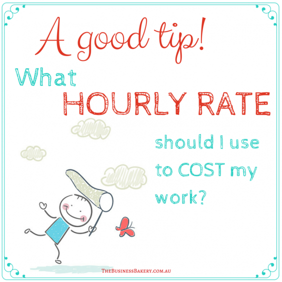 Hourly rate to use to cost work