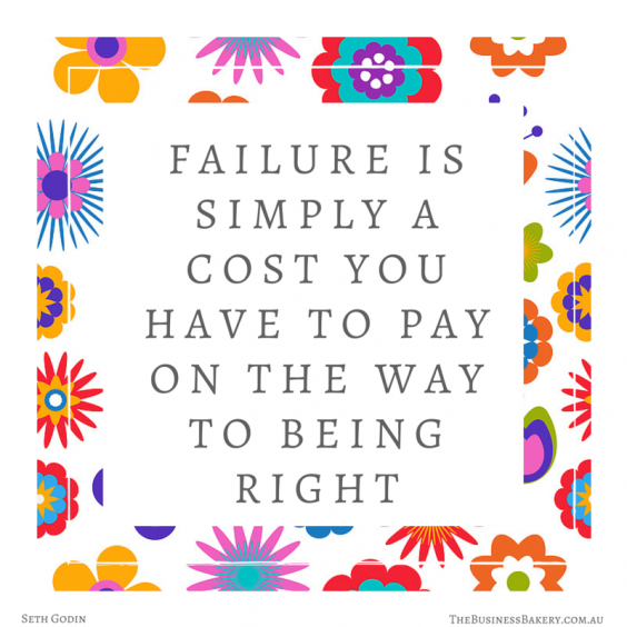 failure is a cost on way to being right