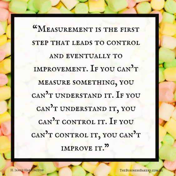 measurement is the first step
