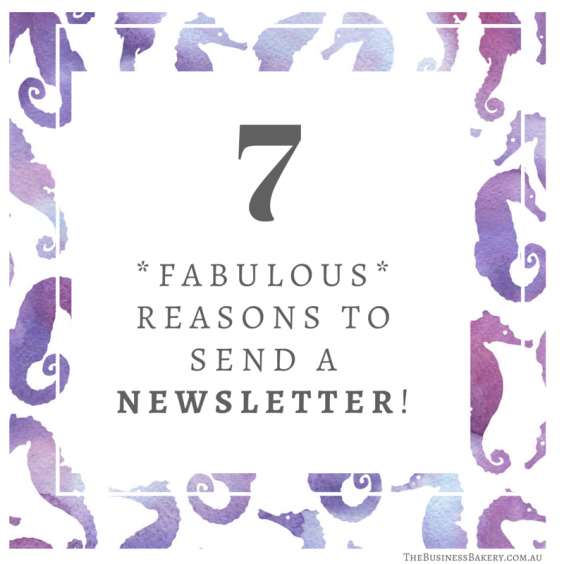 7reasons newsletter