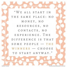 We all start in the same place James Clear quote