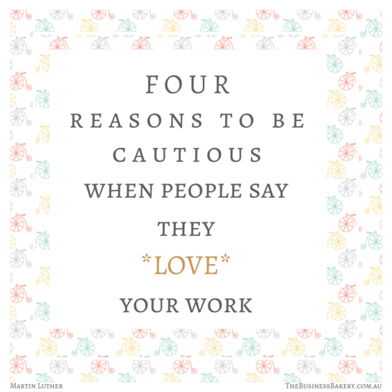 four reasons to be cautious