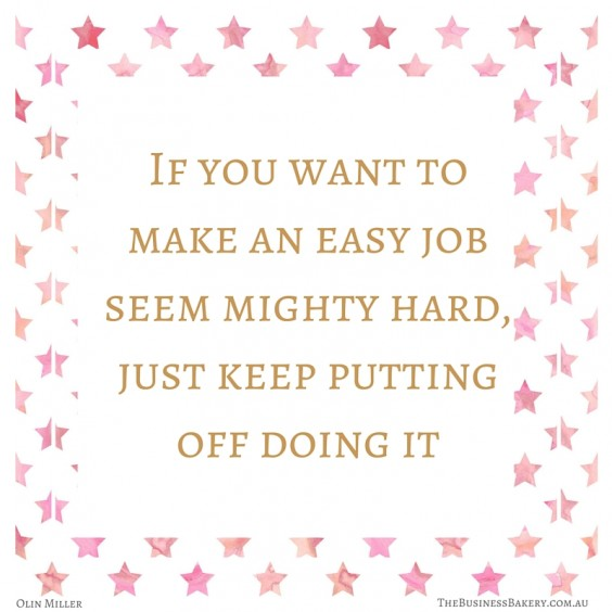easy job mighty hard quote