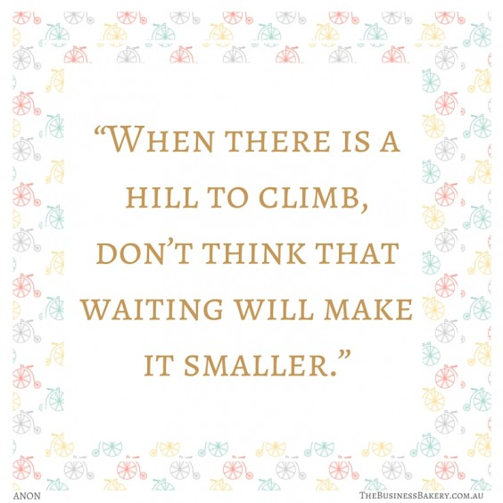 hill to climb quote