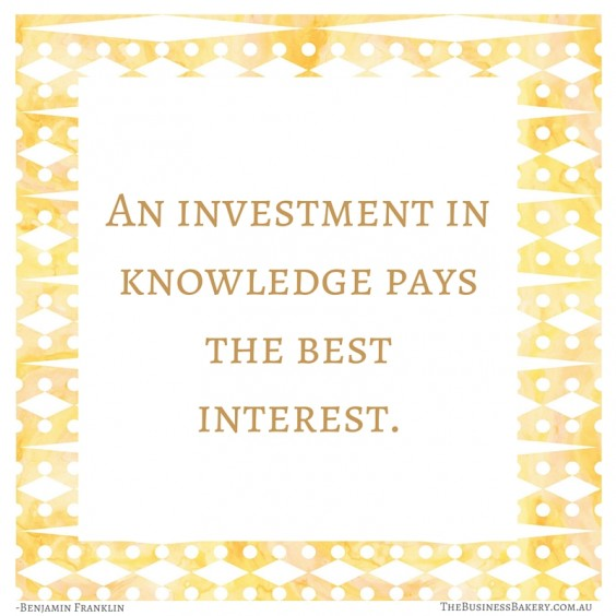 an investment in knowledge