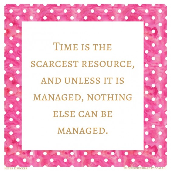 time is the scarcest resource (1)
