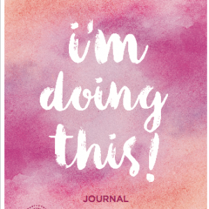 100 day goal journal cover